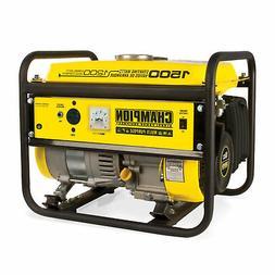 1200 Running Watts/1500 Starting Watts, Gas Powered Portable