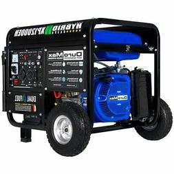 DuroMax XP12000EH 12,000-Watt 18 HP Portable Hybrid Gas Prop