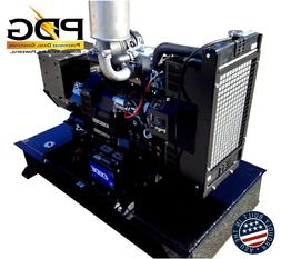 14 kW Diesel Generator Perkins with 64 gallon fuel tank and