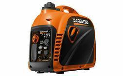 1700 Watts Inverter Generator, Gasoline, Recoil Start, 120V,