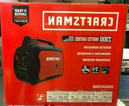 Craftsman 2300W Ultra Quiet Inverter Generator CMXGIAC3000 B