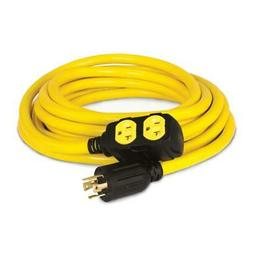 Generator Power Cord 25 ft. 240-Volt Heat And Cold Resistant