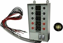 30-Amp Indoor Transfer Switch Power Kit For Generators Up to