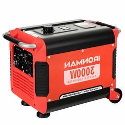 3000W Portable Inverter Gasoline Generator Ultra Quiet 4 Str