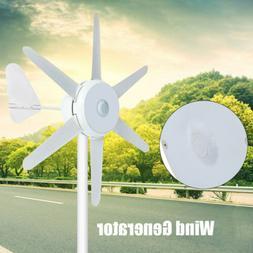 300w 24v 6 blades wind turbines generator