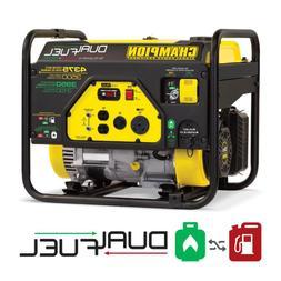 3500-Watt Dual Fuel Powered Rv Ready Portable Generator