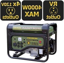 Sportsman 4000/3500-Watt Gasoline Powered Portable Generator