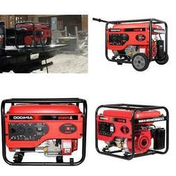 4000 Peak W Generator Portable Dual Fuel Garden Outdoor Powe