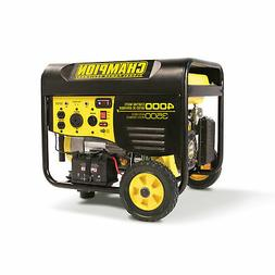Champion 46565 Portable Wheeled Electric Start Gas Powered 3