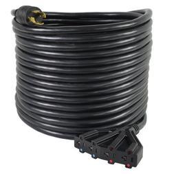 Conntek 50-Feet, 30-Amp 125/250-Volt 4 Prong L14-30P to  15/