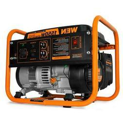 WEN 56155 4-Stroke 98cc 1550-Watt Portable Power Generator,
