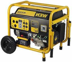 WEN 56877 9000-Watt 420cc 15-HP OHV Gas-Powered Portable Gen