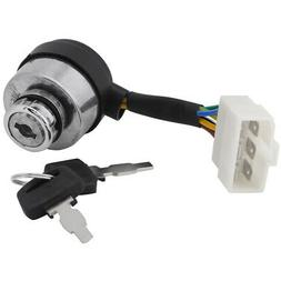6 Wire Ignition Start Key Switch For 2.5-6.5KW 188F Gas Gene