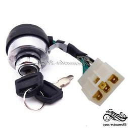 6 Wire On Off Start Ignition Key Switch For Chinese Portable