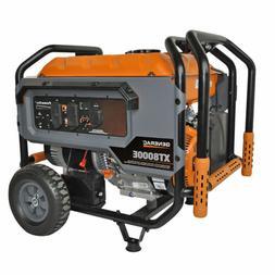 Generac 6433 XT8000E 8,000 Watt Portable Gas Power Electric