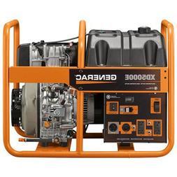 Generac 6864 XD5000E 5,000 Watt Electric Start Diesel Portab