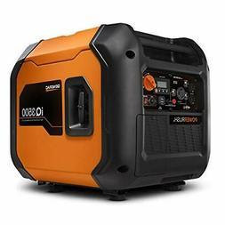 Generac 7127 iQ3500-3500 W Portable Inverter Generator Orang
