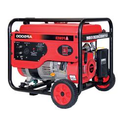 A-iPower 5000W Gasoline Powered 7.5 HP Recoil Start Portable