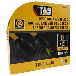 Caterpillar CAT CKG430-050 L14-30 4-Prong 30 Amp Generator E