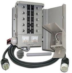 Connecticut EGS107501G2KIT 10 Circuit Generator Manual Trans