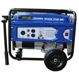 Gasoline Powered Portable Recoil Start Generator - 5000 Watt