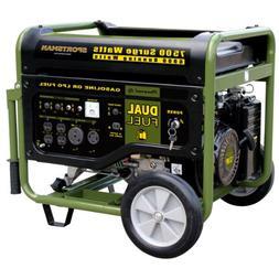 Sportsman GEN7500DF 7,500 Watt 13 HP 389cc OVH 4-Stroke Gas/