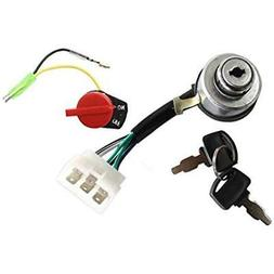 HURI Generator Ignition Key Switch + On Off Stop Switch for