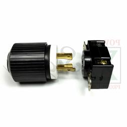 XtremeAmazing GENERATOR RV AC PLUG & SOCKET L14-30 30 AMP 12