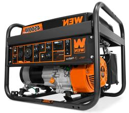 WEN GN4500 4500-Watt 212cc Transfer Switch and RV-Ready Port