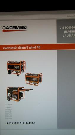 "Generac ""GP"" Series Portable Generator Service Manual"