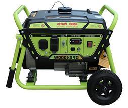 Green-Power America GPG4000W Pro Series Recoil Start Generat