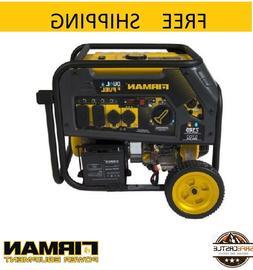 Firman H05751 7100/5700 Watt Dual Fuel Electric Start Genera