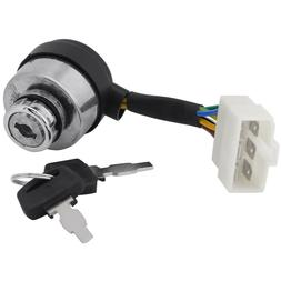 Ignition Key Switch For Wen Power Pro Electric Start P55310