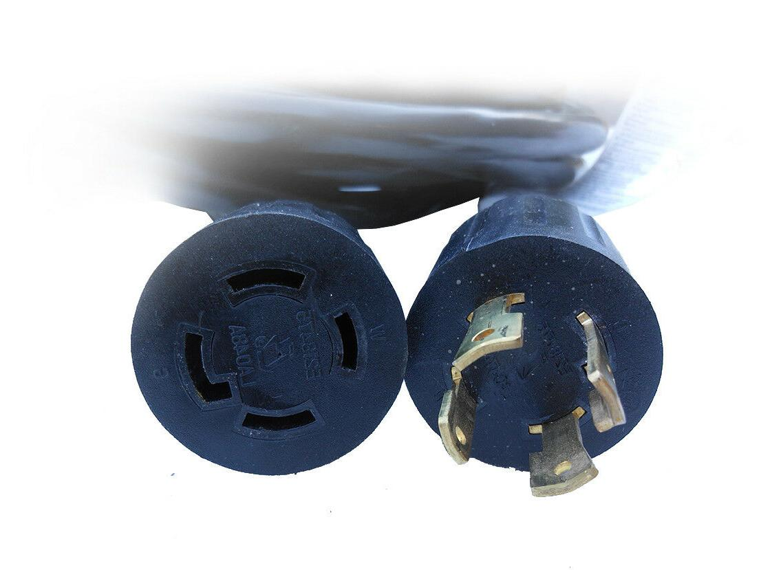 L14-30 4 Prong Generator Power Cord 125/250V Listed Copper
