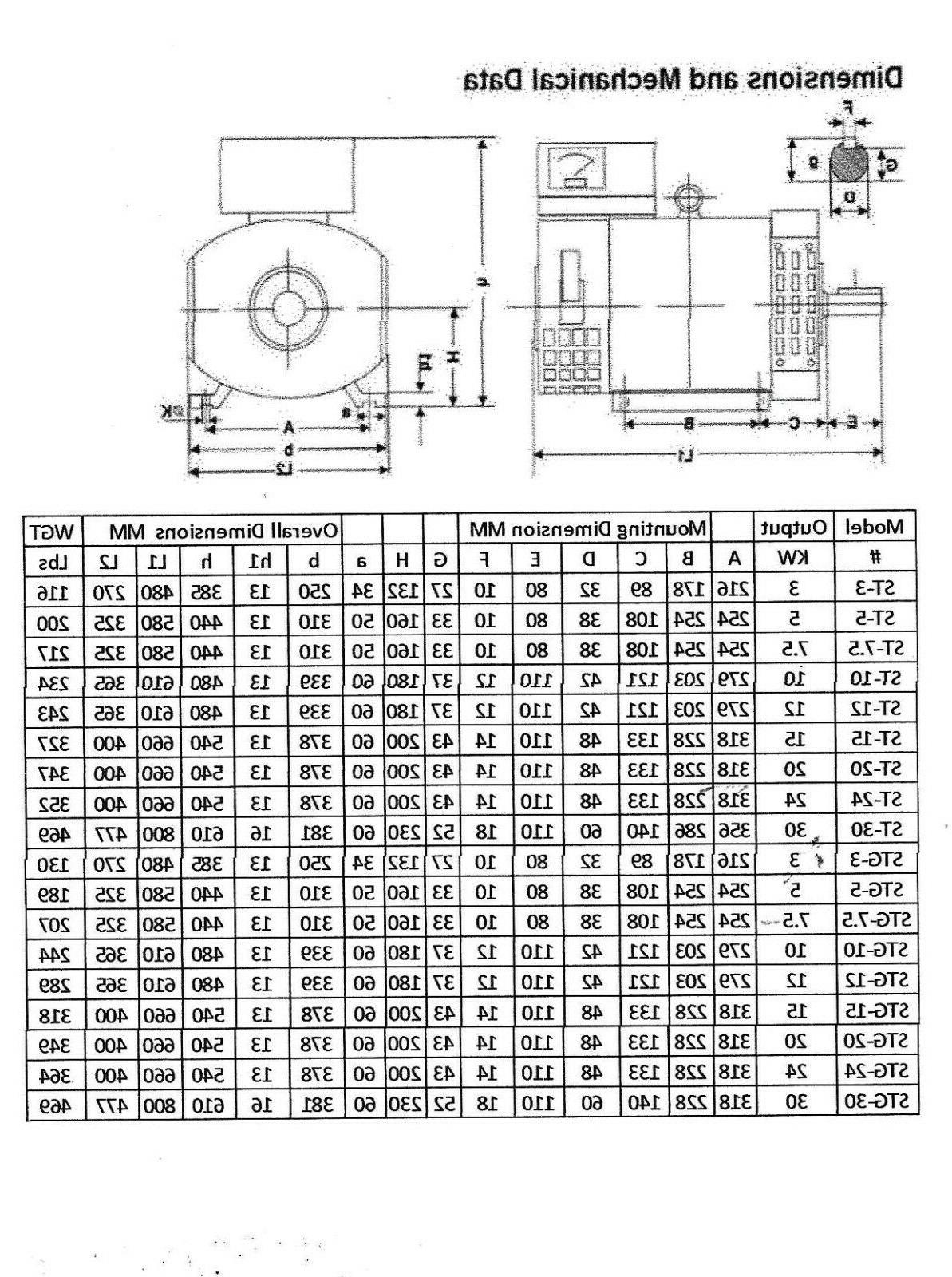 5KW 1 for or 120/240