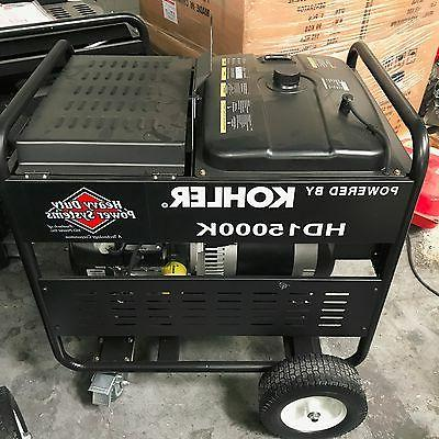 15000 Generator Heavy Duty Made is Engine Electric Start!