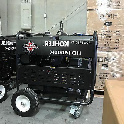15000 Duty Kohler is Engine Start!