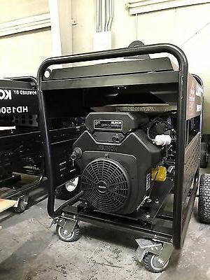 15000 watt Generator Heavy Duty Kohler is US Electric Start!