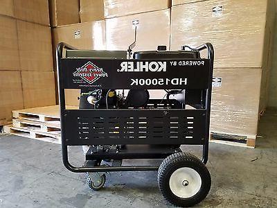 15000 Generator Duty Kohler 23.5HP is Start!
