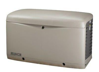 KOHLER 14kW Stationary Back-Up Power Generator LP Vapor or N