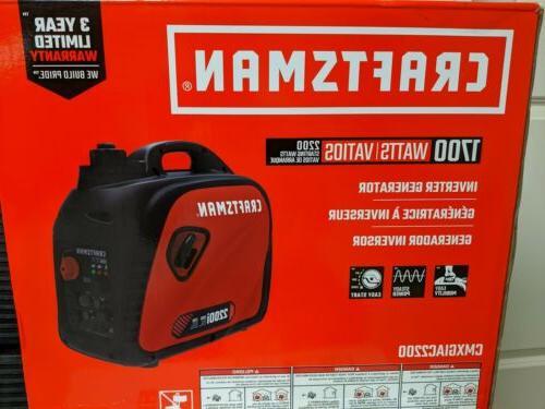 2200 watt inverter gasoline portable generator cmxgiac2200