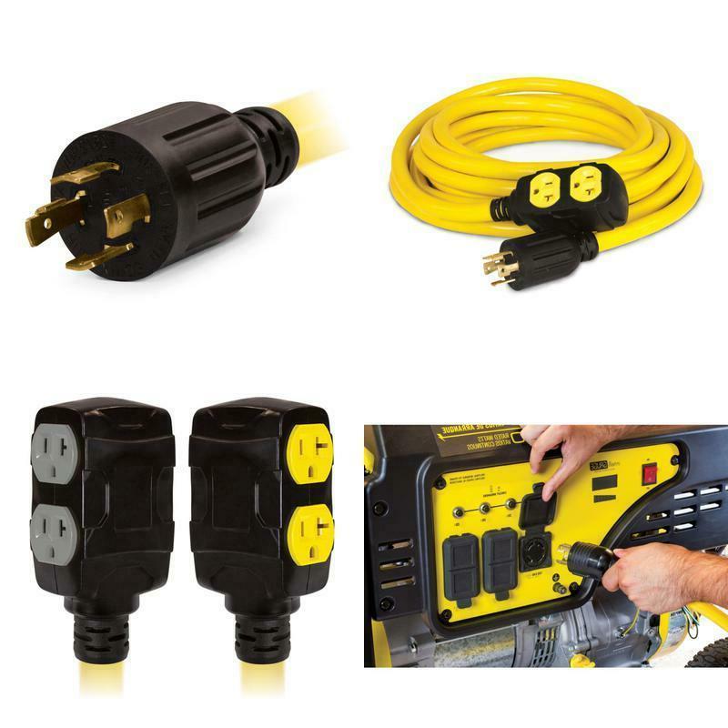 25 ft 240 volt generator power cord