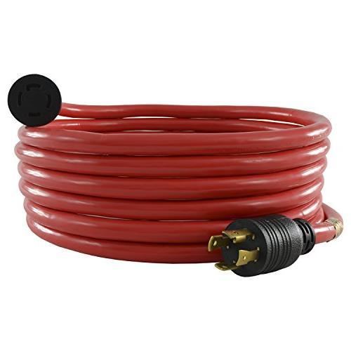 Conntek 20601-020 20-Feet, 30-Amp 125/250-Volt L14-30P/R , 4