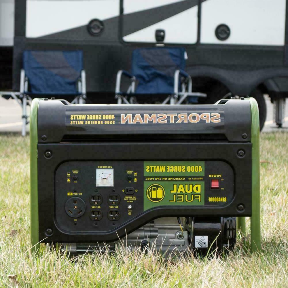 Sportsman Fuel Gas Home RV