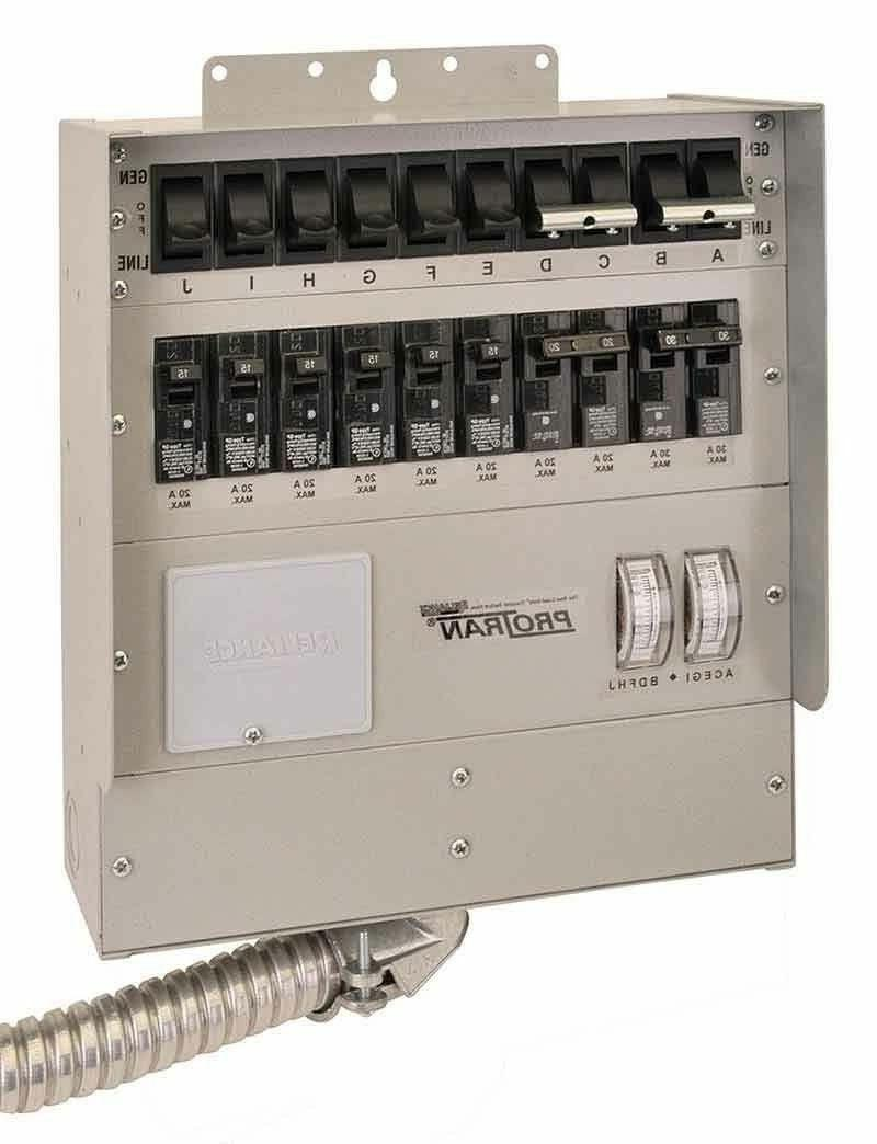 NEW RELIANCE 510C 50 AMP 10 CIRCUIT POWER TRANSFER GENERATOR