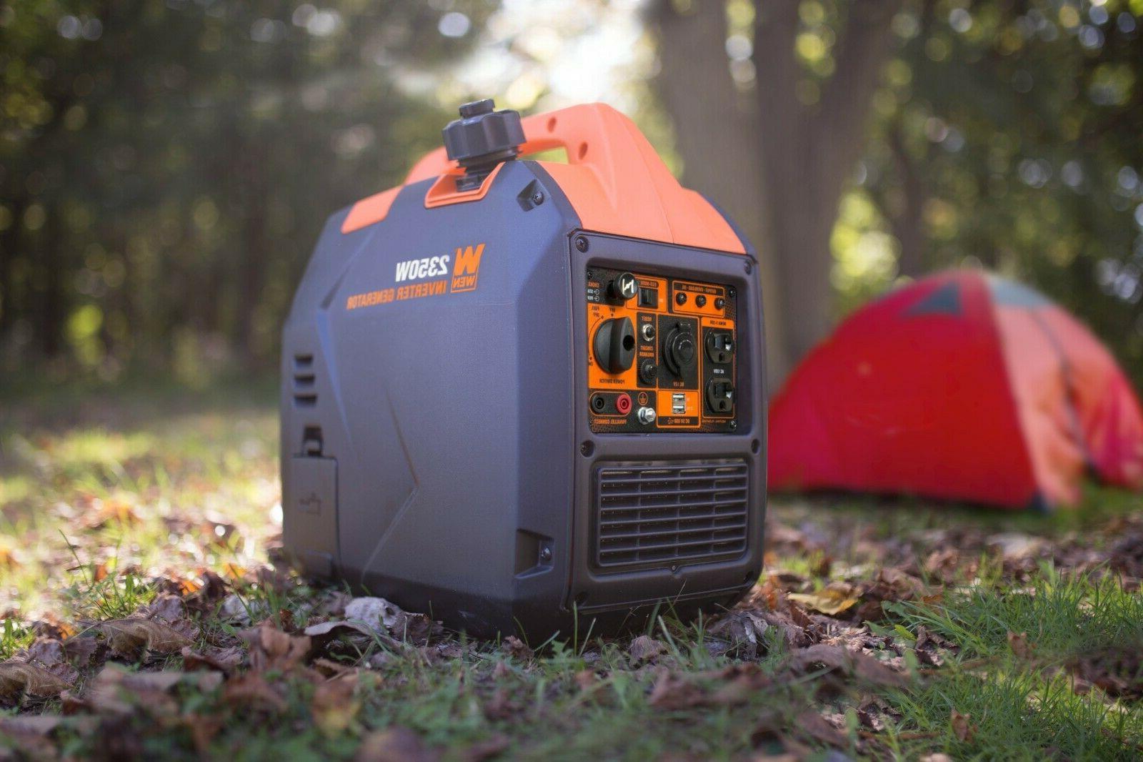 WEN Super Quiet 2350-Watt Inverter with Fuel Off