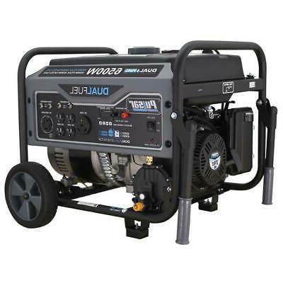 6 500 watts dual fuel gas propane