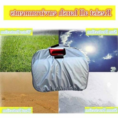Weather Silver Polyester Cover Accessories for Generator EU2000i