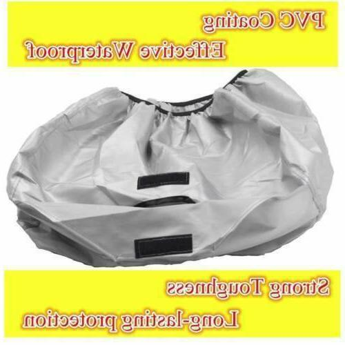 all weather silver polyester dust cover accessories
