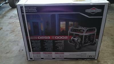 Briggs Series 5000 Watt Generator